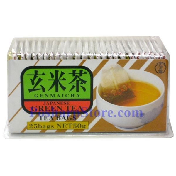 Picture for category Japanese Green Tea with Roasted Rices (Genmaicha) 25 Bags