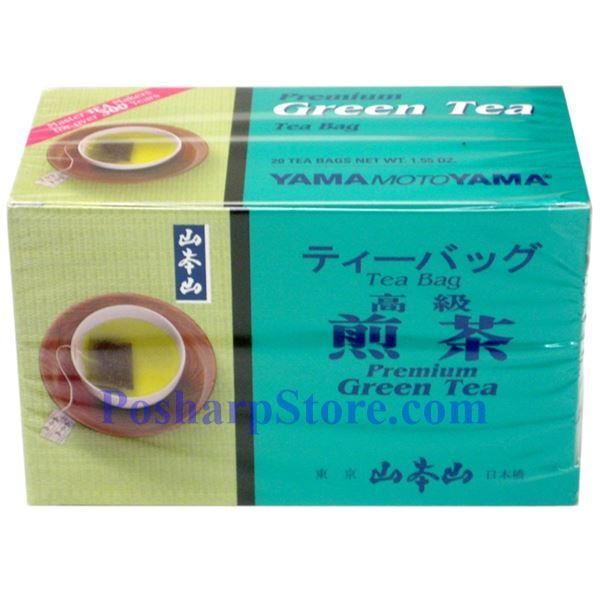 Picture for category Yama Moto Yama  Premium  Green Tea 20 Teabags