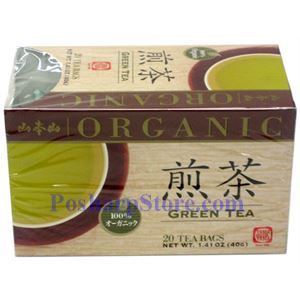 Picture of Yama Moto Yama  Organic Green Tea 20 Teabags