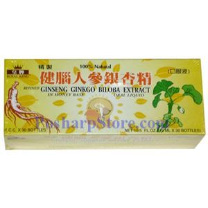 Picture of Royal King Ginseng Ginkgo Bilosa Extract in Honey Base