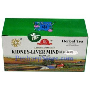 Picture of Absolute-Natural Kidney-Liver Mind Herbal Tea 20 Teabags