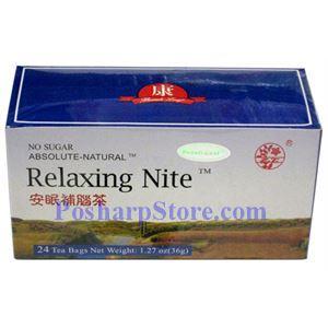 Picture of Beauti-Leaf Relaxing Nite Herbal Tea 24 Teabags