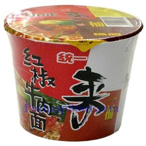 Picture of Unif Bowl Instant Noodle with Spicy Beef Flavor