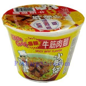 Picture of Little Cook Premium Instant Noodle Bowl with Spicy Beef Flavor