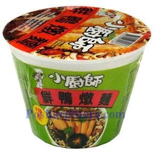 Picture of Little Cook Premium Instant Noodle With Wheat Gluten Duck Flavor