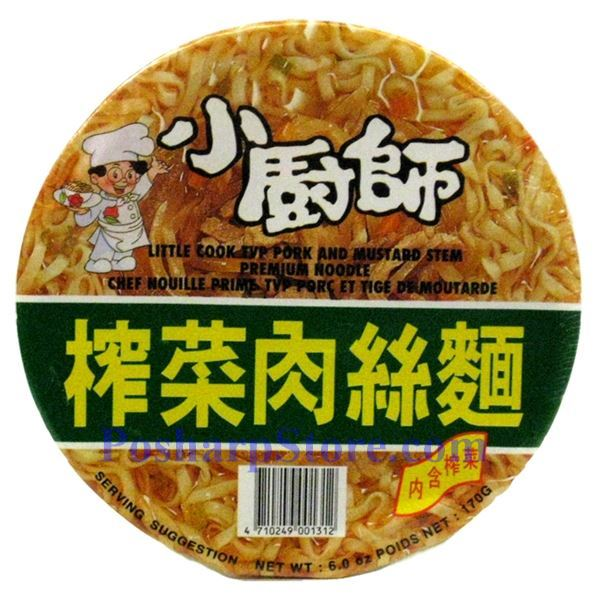 Picture for category Little Cook TVP Pork and Mustard Stem Premium Instant Noodle