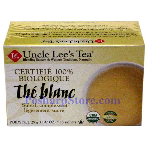 Picture for category Uncle Lee's  Organic White Tea 20 Teabags