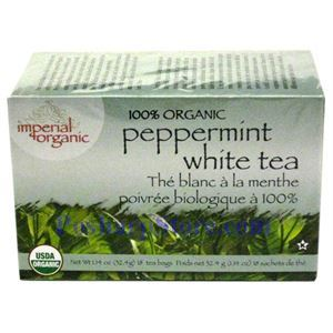 Picture of Imperial Organic 100% Organic Peppermint White Tea