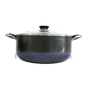 Picture of Glory 34CM Non-Stick Glass-lid Stock Pot
