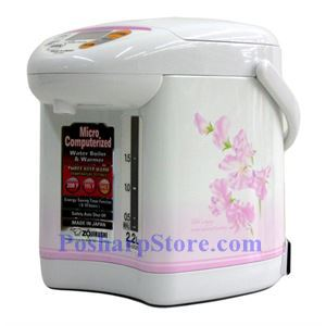 Picture of Zojirushi CD-JUC22 2.2-Liter Micom Water Boiler and Warmer, Sweet Pea