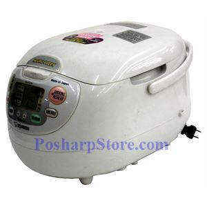 Picture of Zojirushi NS-ZCC18 10-Cup Neuro Fuzzy® Rice Cooker, Premium White