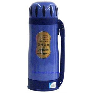 Picture of JinKang JK52-136 Stainless Steel Vacuum  Bottle, Blue 1200 ML