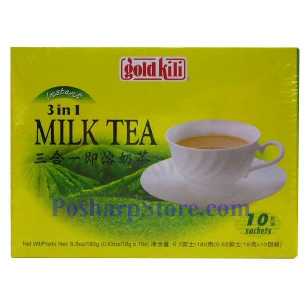 Picture for category Gold Kili 3-In-1 Milk Tea 10 Sachets
