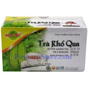 Picture of Hung Phat Bitter Gourd Tea (Bitter Melon Tea), 25 Teabags