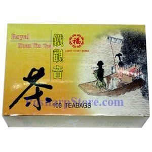 Picture of Lucky Eight Brand Royal Kuan Yin Tea 100 Teabags