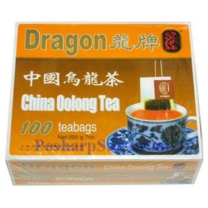 Picture of Dragon China Oolong Tea 100 Teabags