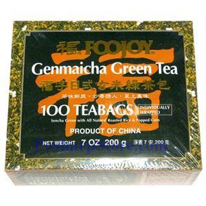 Picture of Foojoy  Gemaicha  Green Tea 100 Teabags
