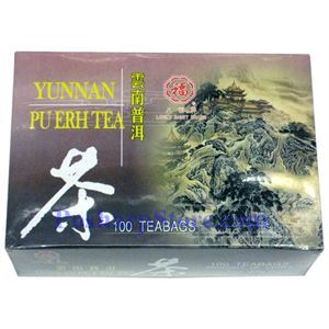 Picture of Lucky Eight Brand Yunnan Pu-Erh Tea 100 Teabags