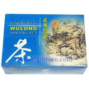 Picture of Lucky Eight Brand Vintage Wuyi Wulong Tea 100 Teabags