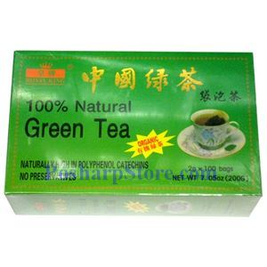 Picture of Royal King 100% Natural China Green Tea 100 Teabags