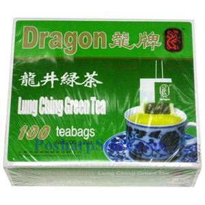 Picture of Dragon Lung Ching Green Tea 100 Teabags