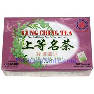 Picture of Lucky Eight Brand Lung Ching Tea 100 Teabags