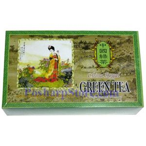 Picture of China Royal Green Tea 100 Teabags