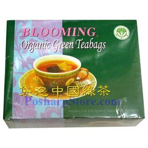 Picture of Blooming Organic Green Tea 100 Teabags