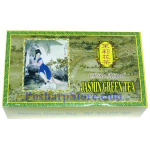 Picture of China Royal Jasmine Green Tea 100 Teabags