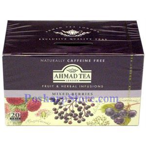 Picture of Ahmad Mixed Berries Infusion, 20 Teabags