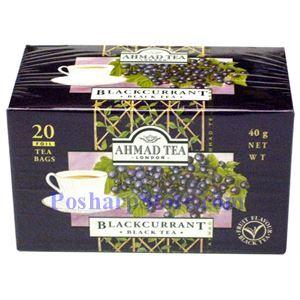 Picture of Ahmad Blackcurrant Black Tea, 20 Teabags