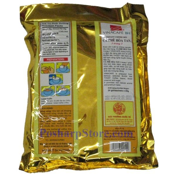 Picture for category Vinacafe 3-In-1 Instant Coffee Mix