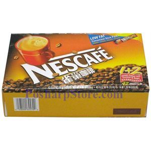 Picture of Nescafe 1+2 Instant Coffee with Creamer and Sugar 42 Packets