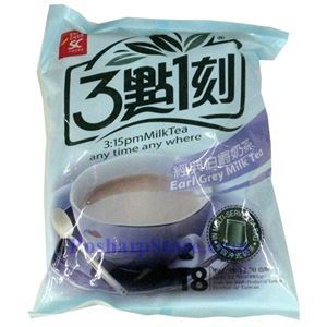 Picture of 3:15pm Earl Grey Milk Tea 15 Bags 10.53oz