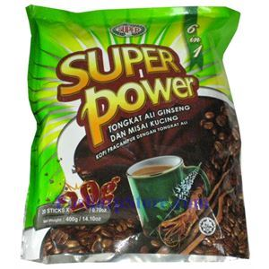 Picture of  Super Power 6 IN 1 Coffee With Tongkat Ali Ginseng & Misai Kucing