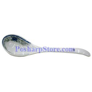 Picture of Porcelain 10-Inch Chinese Rice Spoon