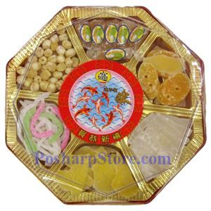 Picture of Happy New Year Assorted Candied Fruits (Small)