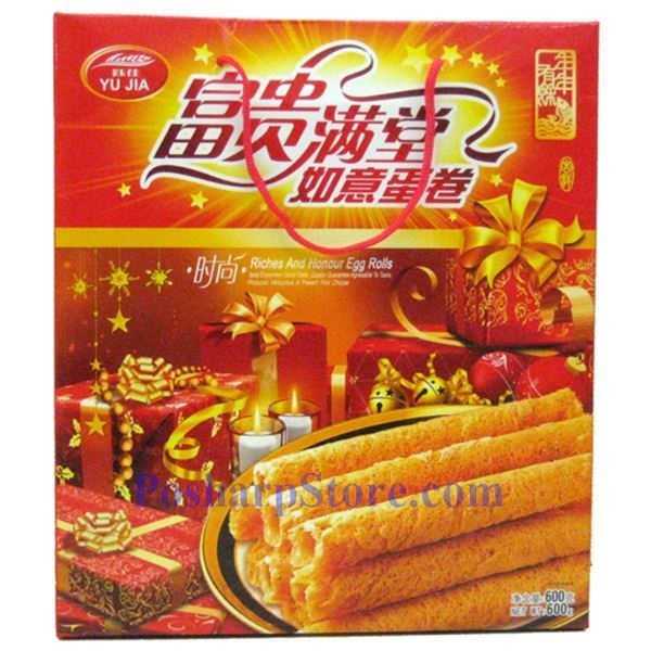 Picture for category Yu Jia Riches and Honour Egg Rolls