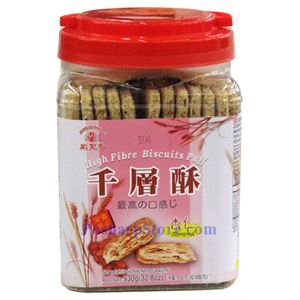 Picture of Mong Lee Shang High Fibre Biscuits Puff with Almond