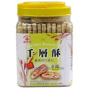 Picture of Mong Lee Shang High Fibre Biscuits Puff with Wheat