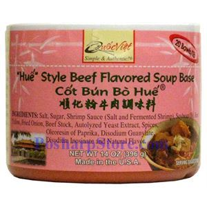 "Picture of Quoc Viet Foods ""Hue"" Style Beef Flavored Soup Base"