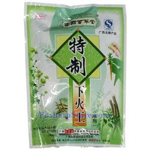 Picture of Baicaotang Instant Herbal Tea for Heat Clearing & Detoxification 5.6 oz 16 sachets