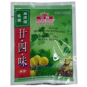 Picture of Royal King Low Sugar Instant Twenty-Four Herbal Drink