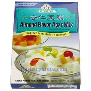 Picture of Golden Coins  Almond Flavored Agar Mix - Tropical Style