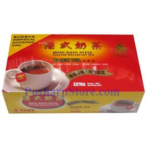 Picture of Golden Sail Hong Kong Style English Breakfast Black Tea 100 Teabags