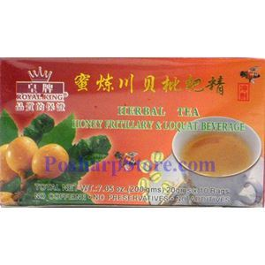 Picture of Royal King Honey Fritillary and Loquat Instant Herbal Tea