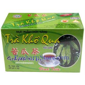 Picture of Gohyah Tea Bag  (Bitter Melon Tea) 20 Teabags