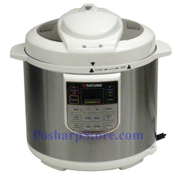 tatung tpc 6l 10 cup electric pressure cooker. Black Bedroom Furniture Sets. Home Design Ideas