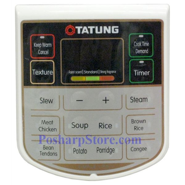 Picture for category Tatung TPC-6L 10 Cup Electric Pressure Cooker