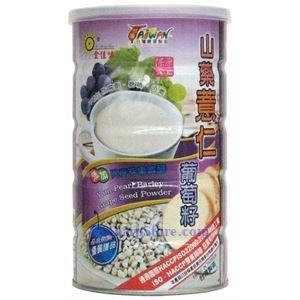 Picture of Jinjiawei  Yam, Pearl Barley & Grape Seed Powder